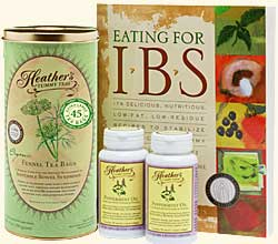 Irritable Bowel Syndrome Diet Kit #1 for IBS bloating, gas, and abdominal pain