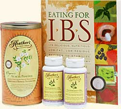 Irritable Bowel Syndrome IBS Diet Kit #2 for IBS diarrhea, constipation, and abdominal pain