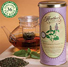 Peppermint Tea for Irritable Bowel Syndrome - Heather's Peppermint Tummy Tea