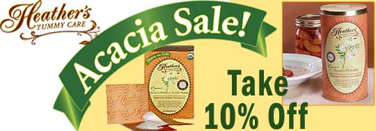 Acacia Tummy Fiber Sale at HelpForIBS.com