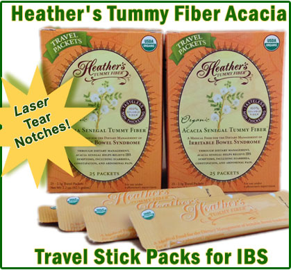 Acacia Tummy Fiber Travel Packets