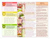 Heather S Ibs T Cheat Sheet A Printable Chart