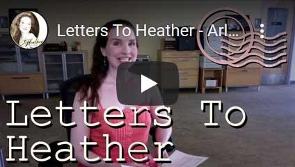 Watch me read Arlene's letter here