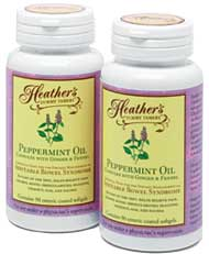 Heather's Tummy Tamers Peppermint Oil Capsules