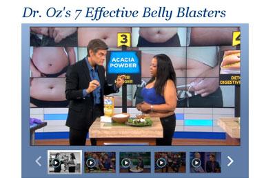 Dr. Oz Features Acacia Fiber!