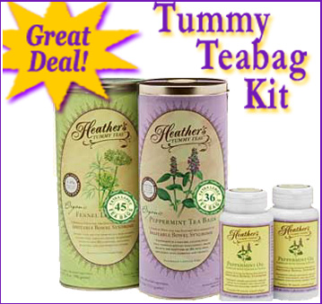 Heather's Tummy Teas Kit for IBS